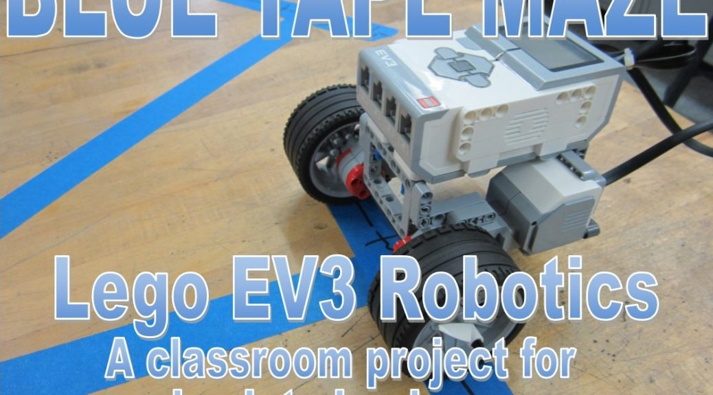 Lego EV3 and NXT: Blue Tape Maze Activity   3D Lesson Plans